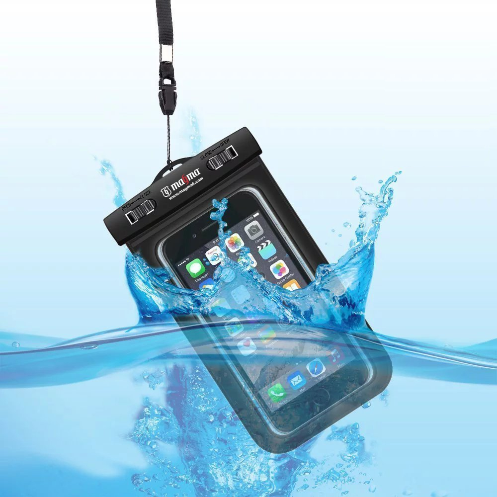Funda agua telefono