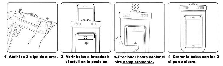 Instrucciones funda movil 2